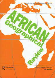 Africa Geography Map by April 2017 Issue Of The U0027african Geographical Review U0027 Now