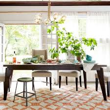 west elm expandable table angled leg dining table dining room ideas