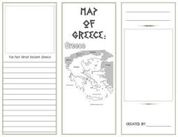 travel brochure template for students 26 images of greece travel brochure template infovia net