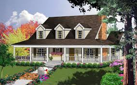country floor plans with wrap around porches plan 7410rd porches galore porch architectural design house