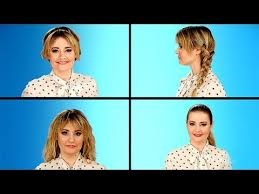 hairstyles to hide really greasy hair 4 easy hairstyles to hide that oily scalp youtube