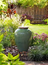 Waterfall Fountains For Backyard by Vessel Fountains Easy Backyard Fountain Backyard Inspiration