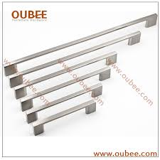 Kitchen Cabinet Hardware Brushed Nickel China Manufacturers Kitchen Cabinet Handles And Pulls Modern Style