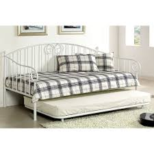 White Daybed With Pop Up Trundle Excellent Daybed With Pop Up Trundle Bed Loft Bed Design