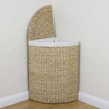 double laundry hamper with lid wicker laundry hamper with lid oval u2014 sierra laundry tidy with