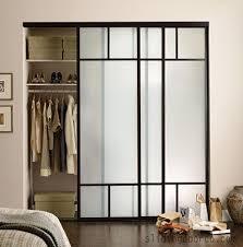 Sliding Glass Mirror Closet Doors Sliding Closet Doors Ideas Frosted Glass Closet Doors For A