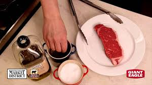 how to panfry and broil certified angus beef new york strip steaks