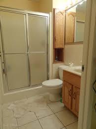 Wainscoting Over Bathroom Tile 300 Bathroom Remodel Installing Shiplap Or Paneling Over Tile