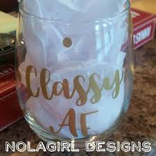 Wine Glass Gifts Wine Glass Decorated Nolagirl Design