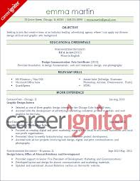 8 graphic design resume template images ms word graphic design