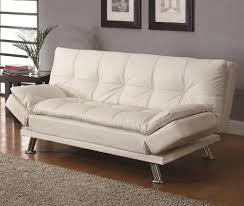 Best Cheap Sleeper Sofa Affordable Modern Sleeper Sofa Coaster In White Homebnc Living