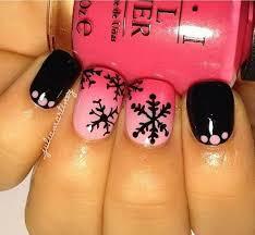 Nail Art Design Black 50 Beautiful Pink And Black Nail Designs 2017