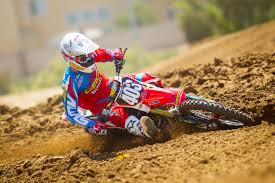 pro motocross racer geico honda announces rider lineup for pro motocross nationals