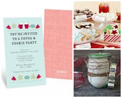 christmas cookie party invitations 3 christmas party ideas pear tree blog