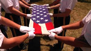 How Many Stars In The Us Flag How To Ceremonial Flag Folding Youtube