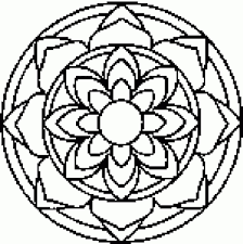 mandala coloring pages free printable with regard to encourage to