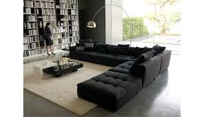 Black Sectional Sofas Fancy Modern Sectional Sofa Ottoman I Really Like The Fish