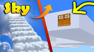 minecraft how to build a house in a cloud live inside a cloud