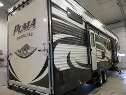 Puma 5th Wheel Floor Plans by 2015 Palomino Puma Unleashed 356 Qlb Fifth Wheel Owatonna Mn