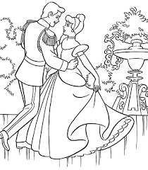 and prince charming coloring pages