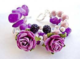 handmade flower bracelet images Look what ive made projects jewellery making handmade dyed jpg90