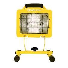 hdx portable halogen work light halogen work lights workforce halogen work light lighting