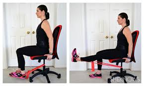 leg exercises at desk exercises you can do from your office chair