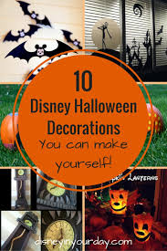 10 disney halloween decorations to make disney in your day