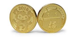 new year gold coins new year dead zebra inc