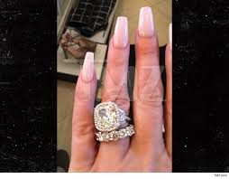 zolciak wedding ring zolciak scored digit karats tmz