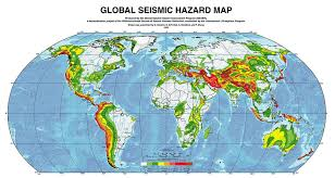 Global Map Of The World by Earthquake Map Global