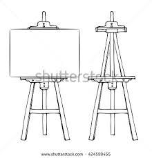 Desk Easel For Drawing Easel Stock Images Royalty Free Images U0026 Vectors Shutterstock
