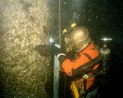 underwater welding and cutting marmara diving marine outfall