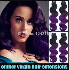 ombre hair weave african american star style hair brazilian body wave human weave hair two tone