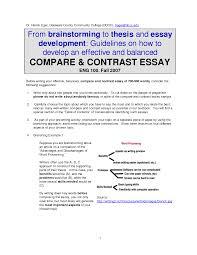 comparison and contrast essay samples compare and contrast essay thesis statement sample comparison essay comparecontrast essay video 1 youtube resume formt cover comparison essay thesis example