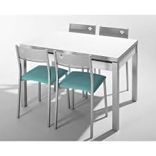 table cuisine verre trempé table cuisine verre tremp wilsa table de jardin en aluminium blanc