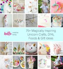 How To Be A Unicorn For Halloween by 75 Magically Inspiring Unicorn Crafts Diys Foods And Gift Ideas
