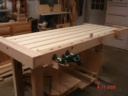 Woodworking Bench Vise Installation by Front Vise By James Lango Lumberjocks Com Woodworking Community
