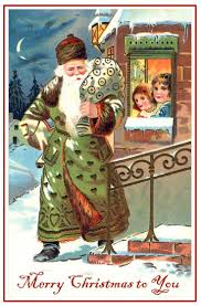 52 best santas green images on pinterest father christmas