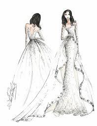 wedding dress fashion sketch indian fashion sketches dresses