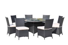 kontiki dining sets wicker large ideal for 8 or more seats