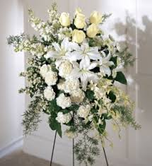 flower for funeral pfeffer funeral home florist
