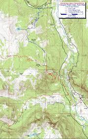 Bear Creek Trail Map Conejos Peak South San Juan Wilderness Colorado Free Topo Trail