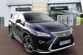 lexus suv blue used cars in stock at lexus cheltenham for sale