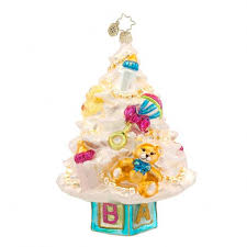 81 best christopher radko baby ornaments images on pinterest