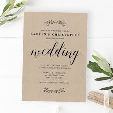 wedding invatations rustic wedding invitations printable barn wedding invitations