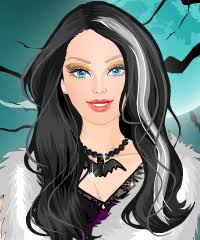 barbie in halloween dress up game