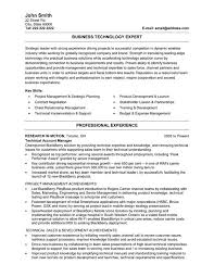It Resumes Templates Information Technology Resume Examples Resume Example And Free