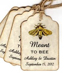 wedding gift labels 100 meant to bee wedding favor gift tags wedding wish tags