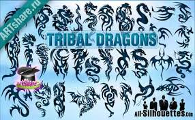 tribal tattoo design 500 free vectors to download